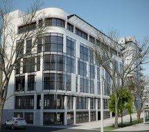 Многоэтажный торгово-офисный центр в г.Симферополь
