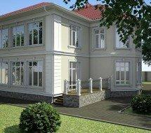 Индивидуальный жилой дом в г.Симферополь